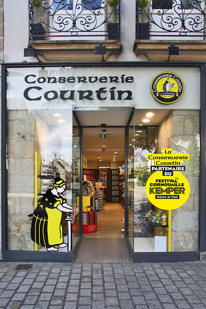 Conserverie Courtin Boutique Quimper